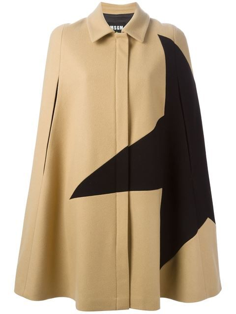 Shop MSGM star print cape coat in Laboratoria from the world's best independent boutiques at farfetch.com. Shop 300 boutiques at one address.