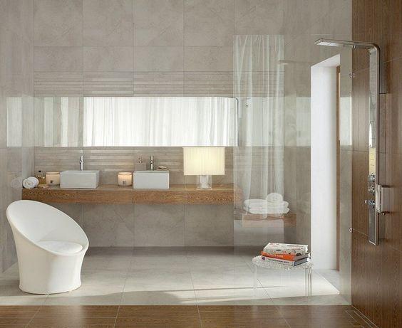 salle de bain noir et blanc ou en tons contrastés en 40 idées - Salle De Bain Noir Et Beige