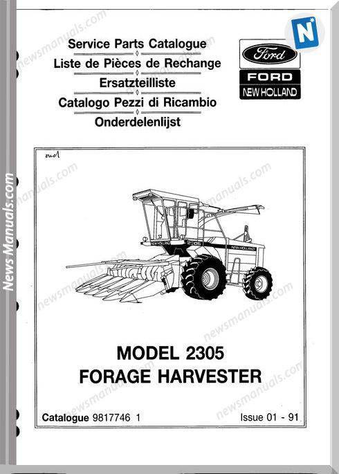 New Holland 2305 Part Catalogue Parts Catalog New Holland Catalog