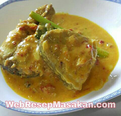 Gulai Ikan Tongkol Bumbu Kuning Gulai Resep Masakan Masakan