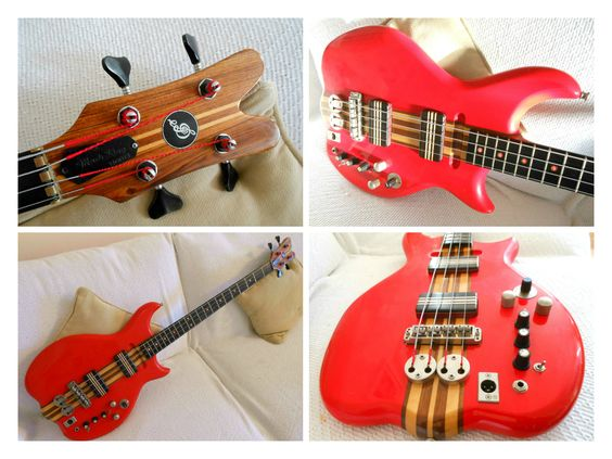 Jaydee Bass Collage | My Series 2 Supernatural Bass | made in 1986.