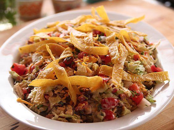 Cowboy Chopped Salad Video : Food Network