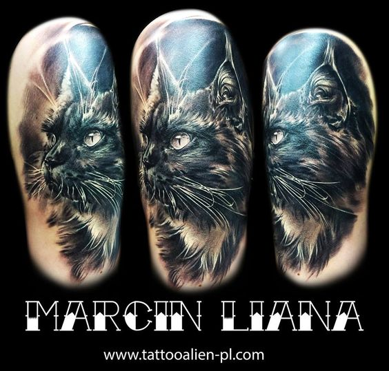 """Tatuaż wykonany przez Marcin Liana  Studio tatuażu """"Alien"""" Dąbrowa Górnicza"""