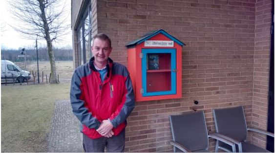 Little Free Library Zelzate