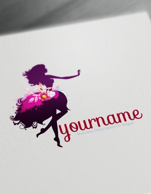 Flower Logo Template Free Online Logo Maker And Download Free Logo Templates Beauty Logo Design Online Logo