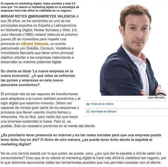 """Entrevista: """"El #contenido es la clave en la nueva #publicidad"""" - http://www.juanmerodio.com/2016/contenido-clave-nueva-publicidad/ via Juan Merodio"""