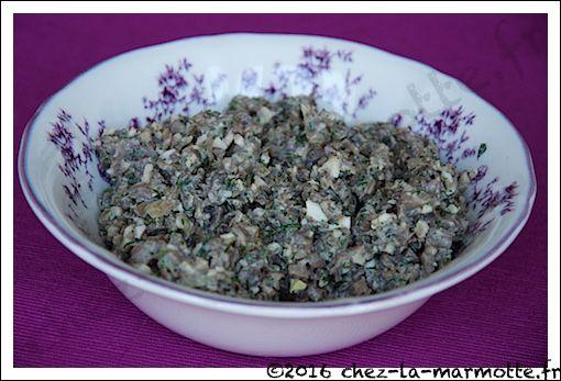Caviar de champignons russe | Marmotte cuisine !
