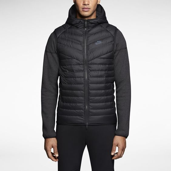 Nike Tech Fleece Aeroloft Windrunner Men's Jacket. Nike Store ...