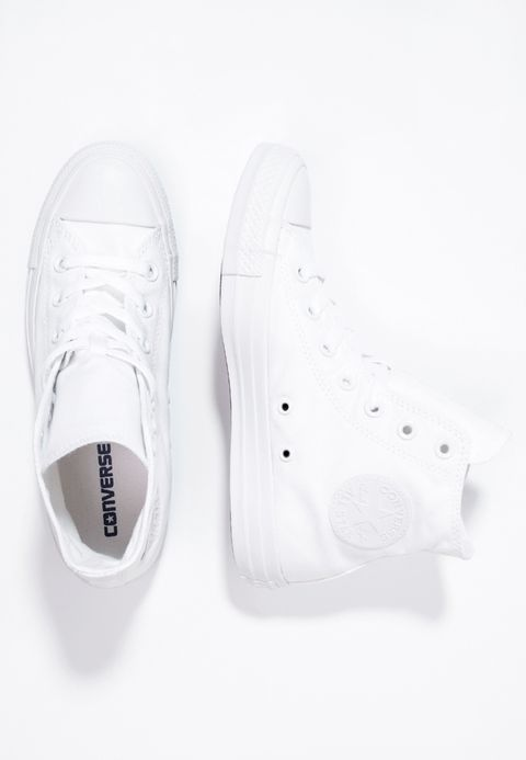 converse all star blanche montante