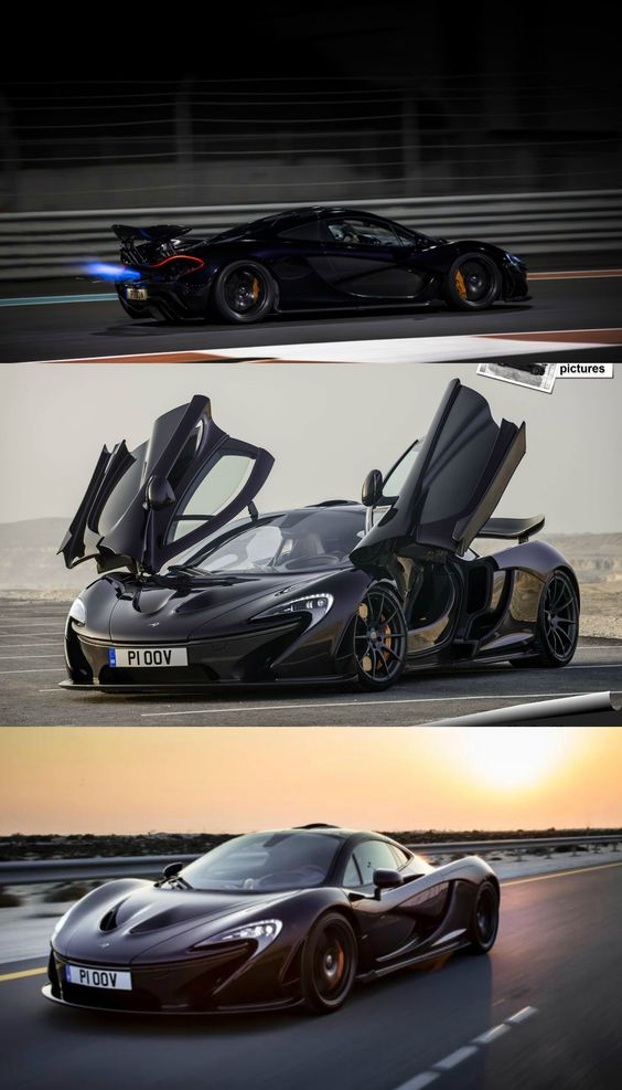 McLaren P1 With a 3.8L, twin-turbo V8 engine plus an electric motor, a McLaren P1 produces 903 horsepower and 723 lb-ft of torqu