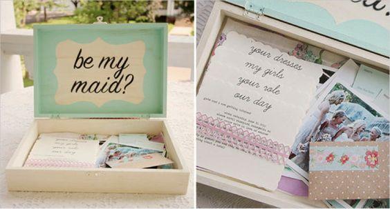 Convites especiais para padrinhos de casamento