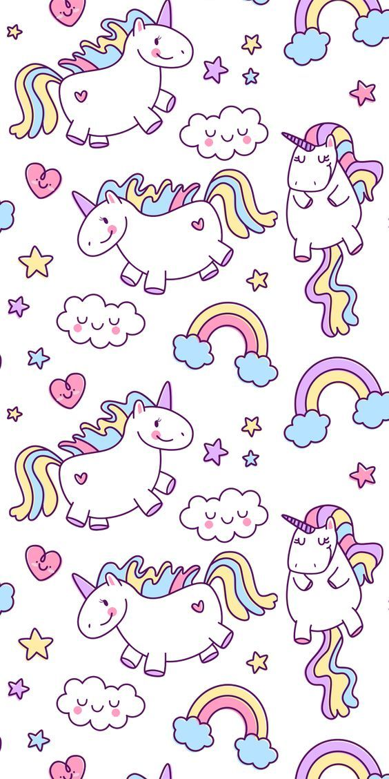 Tumblr Doodle Wallpaper Dengan Gambar Unikorn Wallpaper Iphone