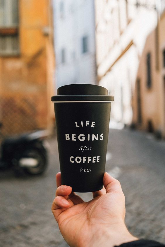 Coffee photo via discovering rome p co quotes for Coffee to go