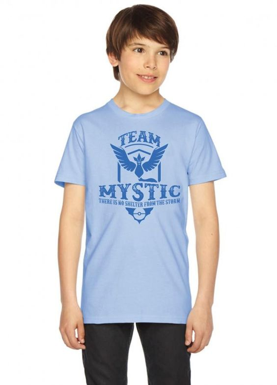 team mystic there is no shelter from the storm Youth Tees