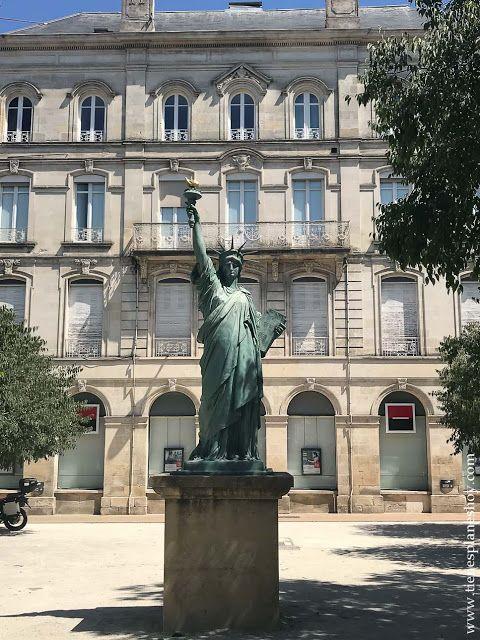 Réplica Estatua de la Libertad (con imágenes)   Burdeos, Estatua ...
