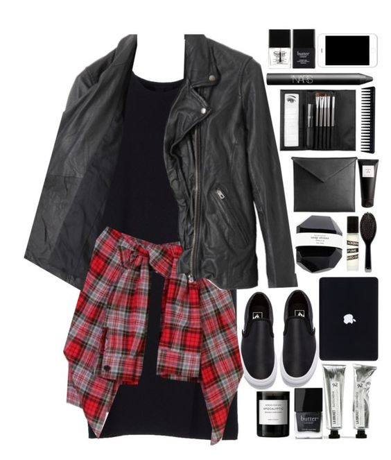 """""""idk what should be here"""" by yasyadesinger ❤ liked on Polyvore featuring Vans, Alexander Wang, American Rag Cie, GHD, Blackbird, Byredo, Butter London, Mark/Giusti, Eight & Bob and NARS Cosmetics"""