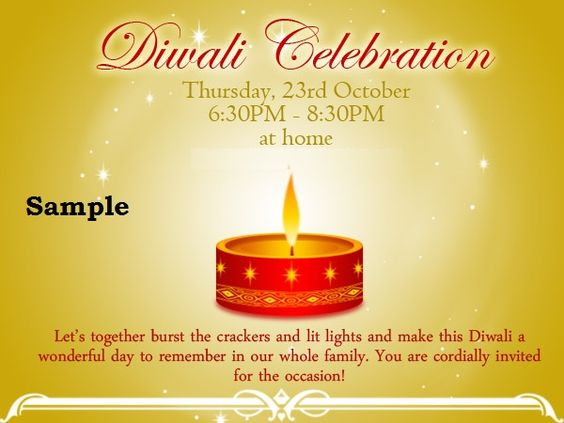 Diwali invitation cards 2015 diwali party invitation cards sample diwali invitation cards 2015 diwali party invitation cards samplediwali invitation wordings messagesgreetings and wishesdiwali invitation cards stopboris Image collections