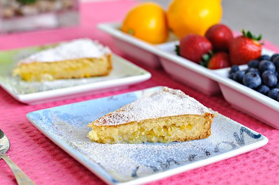 Lemon Pie Recipe  Real lemon pie flavor that is easy to make and requires very little ingredients.