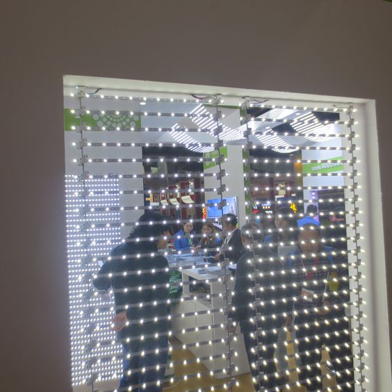 Commercial lightbox backlight/ Foldable LED curtain Light for ...