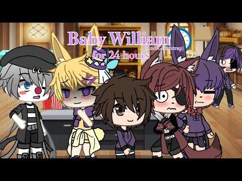 William Glitchtrap Turn Into Babies For 24 Gacha Life Fnaf Youtube Fnaf Cute Disney Drawings Anime Fnaf