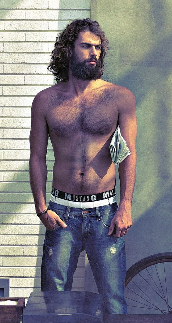 Spyros Christopoulos / Σπύρος Χριστόπουλος, Greek male model.