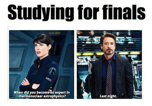 Hahaha finals week. This is going to be me in chemistry!