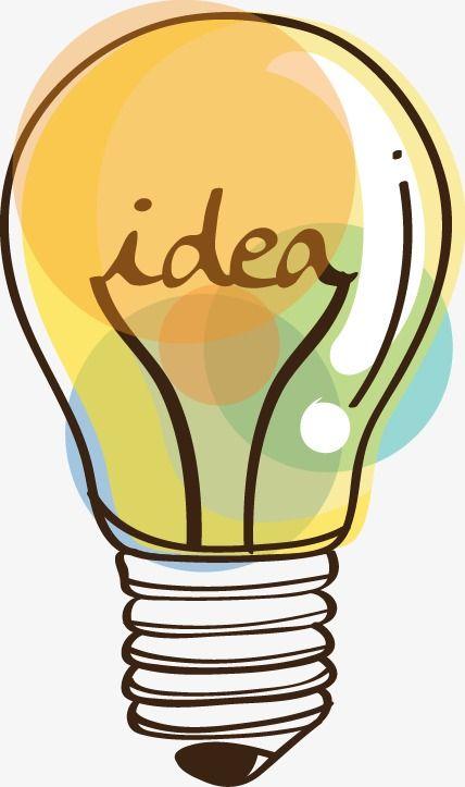 Creative Cartoon Light Bulb Cartoon Light Bulb Light Bulb Art Light Bulb Illustration