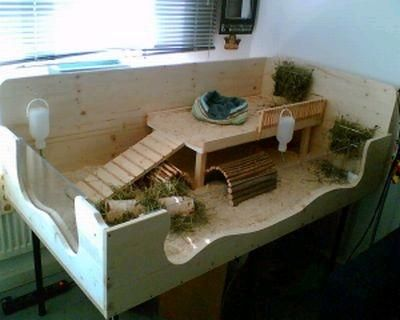 Auch die kleinen Nagetiere haben ein schönes Zuhause verdient :-)