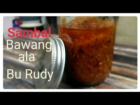 Resep Sambal Bawang Ala Bu Rudy Surabaya Youtube Makanan Resep Gula
