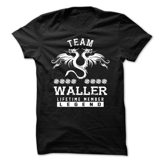 TEAM WALLER LIFETIME MEMBER - #baby gift #coworker gift. GET => https://www.sunfrog.com/Names/TEAM-WALLER-LIFETIME-MEMBER-hthvhisrgt.html?id=60505