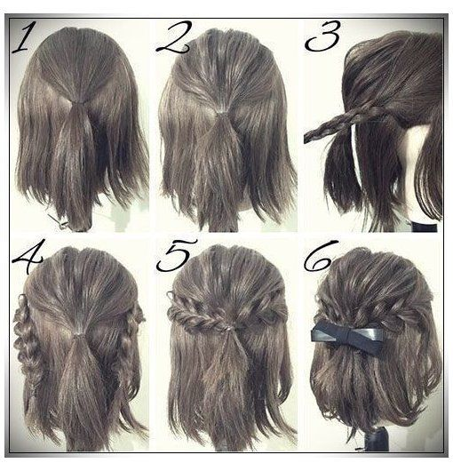 Easy Hairstyles 2020 Step By Step Easy Hairstyles 2019 Schritt Fur Schritt Easy For Hairstyles Step Easy Hairsty In 2020 Hair Styles Simple Prom Hair Hair Tutorial