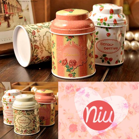 Tarritos estilo vintage. Encuentra esto y mucho más en: www.niuenlinea.co