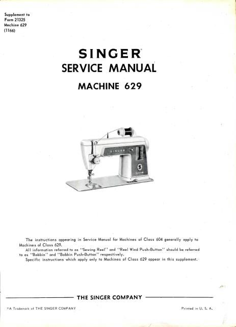 sewing machines manual and singers on