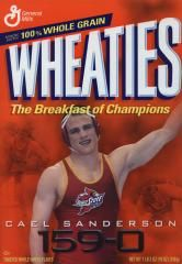 Cael Sanderson, went undefeated in NCAA Division I wrestling at Iowa State, 159-0. At the age of 35, he took Olympic Gold in the 2004 Athens Games.