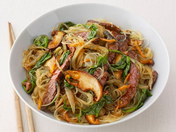 Korean Beef Noodles for your #Olympic menu.