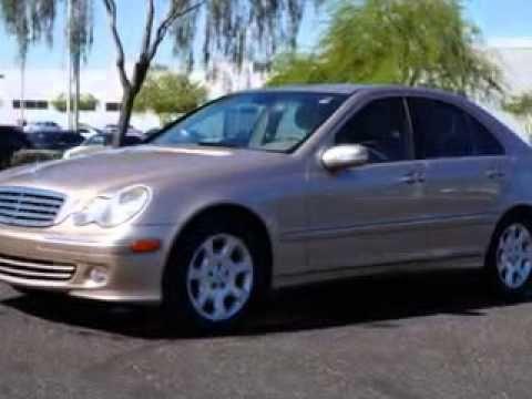 2005 Mercedes-Benz C320 Lunde's Peoria Volkswagen Phoenix, AZ (+playlist)