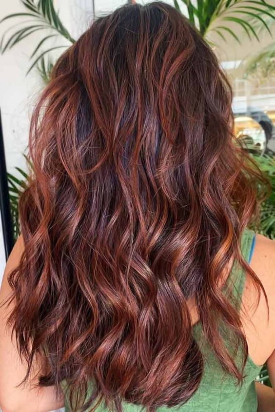chestnut hair