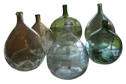 Collection of French Glass Bottles - $750.