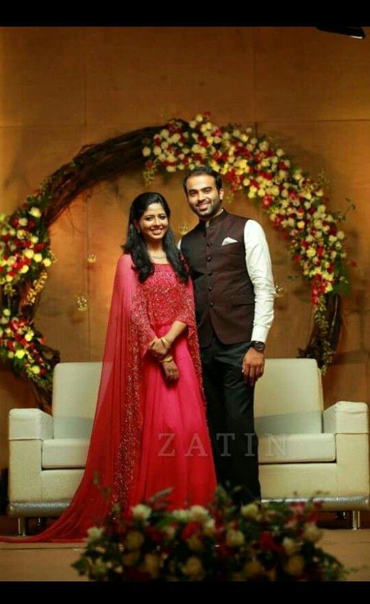 Pin By Treesa On Christian Weddings Engagement Dress For Groom Engagement Dress For Bride Couple Wedding Dress