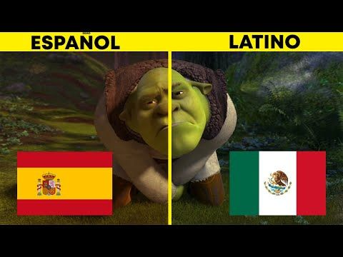 Shrek 2 Espanol Latino Vs Espanol Castellano Comparacion Doblaje Youtube En 2021 Espanol Castellano Espanol Castellano