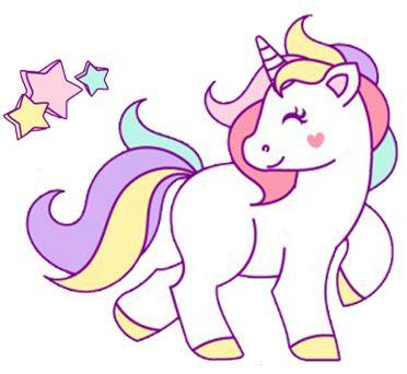 Las imágenes con Unicornios han sido de las más pedidas últimamente ...