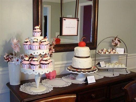cupcake Sunday theme