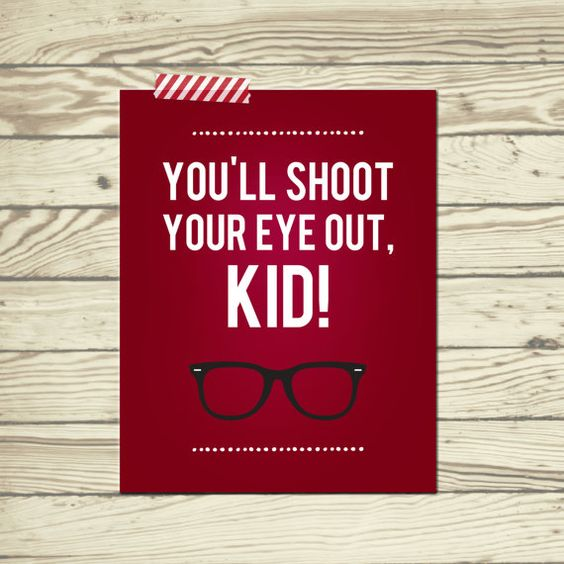 A christmas story, Story quotes and Kids poster on Pinterest
