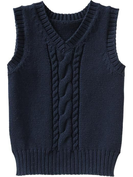 Old navy in 2020 | Knit vest pattern, Knit baby sweaters, Baby knitting