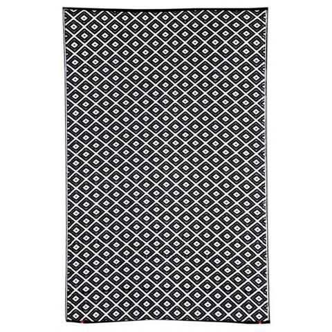 Outdoor Rug Recycled Plastic Kimberley Black In 2020 Outdoor Plastic Rug Outdoor Rugs Rugs Australia
