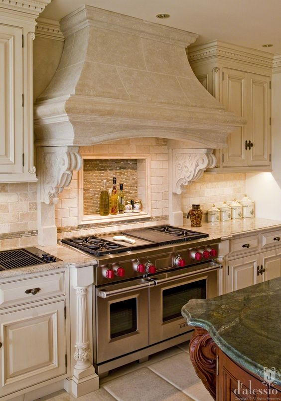 Showcase - European Inspired Kitchen: