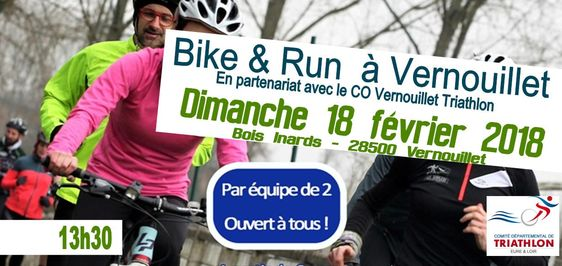 Bike & Run étape de Vernouillet