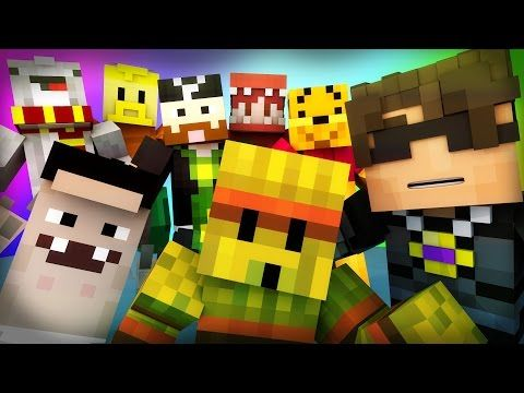 Minecraft Mini-Game : DO NOT LAUGH! (WEREWOLF RACING, TREE MAN?!) w/ Facecam - YouTube