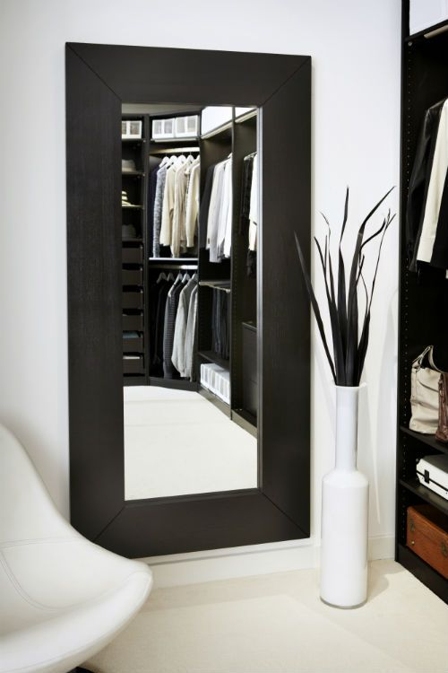 IKEA Fan Favorite: MONGSTAD mirror. Add depth and beauty to any hallway with this mirror, which can be hung horizontally or vertically.: