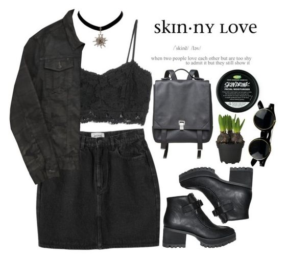 """""""☯ Find me"""" by xcarryhoranx ❤ liked on Polyvore featuring MANGO, Monki, Blood Brother, Y.R.U. and Proenza Schouler"""
